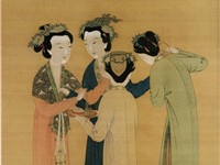 Court Ladies of the Former Shu by Tang Yin (1470-1524), National Palace Museum