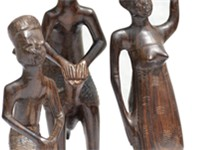 Makonde carvings.