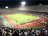 Azadi Stadium is the fourth biggest stadium in the world.