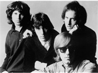 The Doors band members in 1966