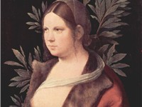 Laura, painted 1506 by Giorgione