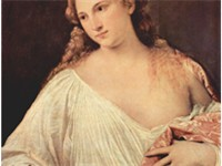 Flora, painted 1515 by Titian