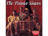 The Pointer Sisters on the cover of their debut album, which was released in 1973 and yielded the hi