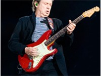 Guitarist Andy Summers performing in Marseille with the group