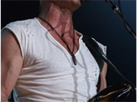 Sting with the group at Madison Square Garden, August 2007