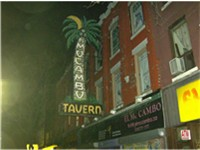Toronto's El Mocambo Club where part of Love You Live was recorded.