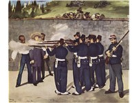 douard Manet's Execution of the Emperor Maximilian (1868-1869), is one of five versions of his repr