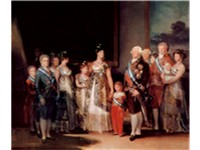 Charles IV of Spain and His Family, 1800--1801. Although Goya had painted many portraits of the Hous