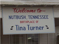 Nutbush, the childhood home of Tina Turner.