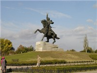 Statue of Alexander Suvorov in Tiraspol