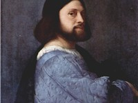 This early portrait (c. 1512) was long wrongly believed to be of Ariosto; it is more likely a self-p