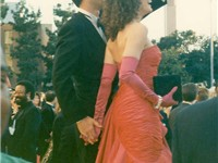 Tom Hanks and Rita Wilson at the 1989 Oscars