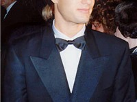 Tom Hanks at the Governor's Ball party after the 61st Academy Awards, March 29, 1989