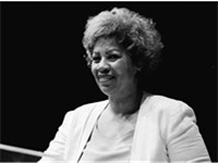 Toni Morrison at the Miami Book Fair International of 1986