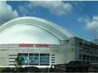 SkyDome Rogers Centre since 2005 was the original venue for Raptors home games between 1995--1999.