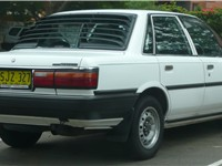 1991--1992 Toyota Camry (SV21) Executive sedan (Australia).