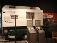 Rocinante, Steinbeck's camper truck which he used to travel across the United States in 1960, now at