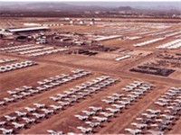 Aircraft at Davis-Monthan Air Force Base