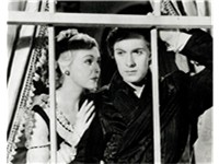 Madeleine Carroll with Power in his first starring role, Lloyd's of London (1936)