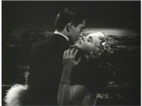 Tyrone Power embraces Alice Faye in the 1938 film Alexander's Ragtime Band