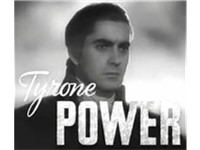 Tyrone Power in a trailer for Marie Antoinette (1938)