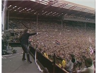 U2's performance at Live Aid was a turning point in their career.