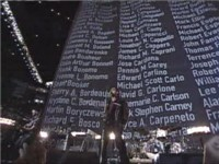 U2 perform at Super Bowl XXXVI Halftime Show, 3 February 2002