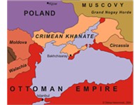 The Khanate of Crimea was one of the strongest powers in Eastern Europe until the end of the 17th ce