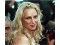 Thurman at the Cannes Film Festival in 2000.