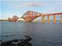 The Forth Railway Bridge, Scotland, is an iconic feature of the rail network.