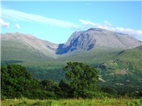 Ben Nevis, in Scotland, is the highest point in the British Isles