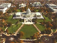 Aerial view of the Capitol Grounds