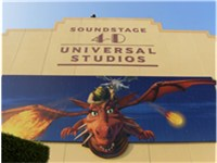 Soundstage 4-D at the park (previously soundstage 40) houses the Shrek 4-D attraction.