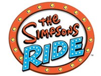 Logo for The Simpsons Ride attraction