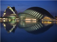The Hemispheric at the Ciutat de les Arts i les Ci ncies (Ciudad de las Artes y las Ciencias) by San