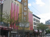 The Vogue Theatre on Granville Street