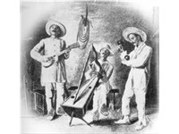 The joropo, as depicted in a 1912 drawing by Eloy Palacios