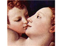 Venus and Cupid detail.