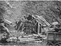 Prospector's Hut, Upper Dargo, Victoria (Gippsland), 1870.