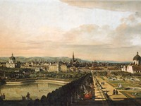View of Vienna in 1758, by Canaletto