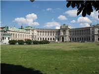 Hofburg Imperial Palace seen from Heroes' Square