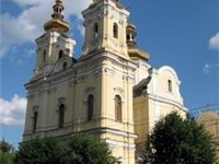 A cathedral in Vinnytsia (1758).