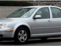 2004-2005 Volkswagen Jetta sedan (US)