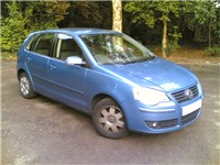 2005 Volkswagen Polo 5-door hatchback