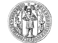Seal of Bolko I, showing him as the duke of Vistenberch (F rstenberg) = F rstenstein