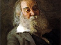 Portrait of Whitman by Thomas Eakins, 1887-88