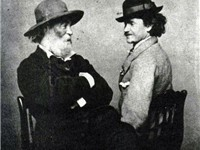 Whitman and Peter Doyle, one of the men with whom Whitman was believed to have had an intimate relat