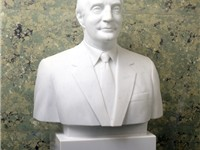 Vice President Mondale bust from the Senate collection