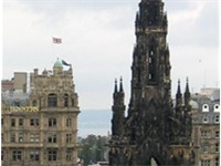 The Scott Monument, Edinburgh Alternative View