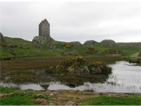 Scott's childhood at Sandyknowes, close to Smailholm Tower, introduced him to tales of the Scottish